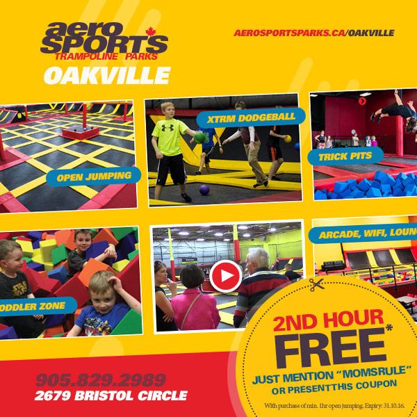 Aerosports Trampoline Parks Oakville
