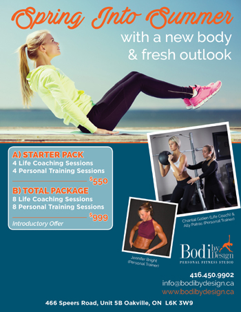 Bodi by Design - Fitness Studio in Oakville