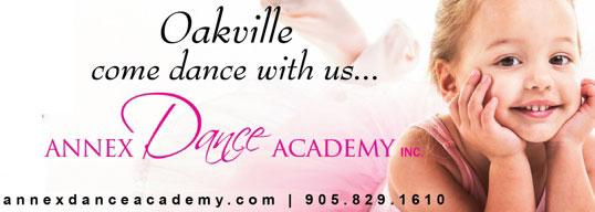 Annex Dance Academy in Oakville & Mississauga