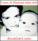 DS Wall Art - Portrait paintings, rock and roll paintings in Oakville