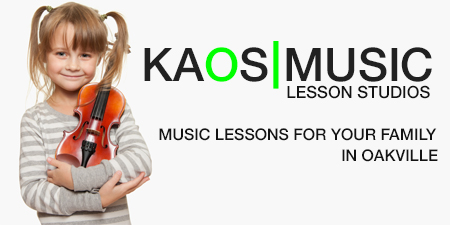 KAOS Music Lessons Studio in Oakville