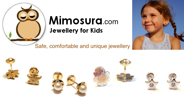 Mimosura Jewellery for Kids in Oakville, Ontario, Canada