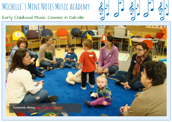 Michelle's Mini Notes Music Academy