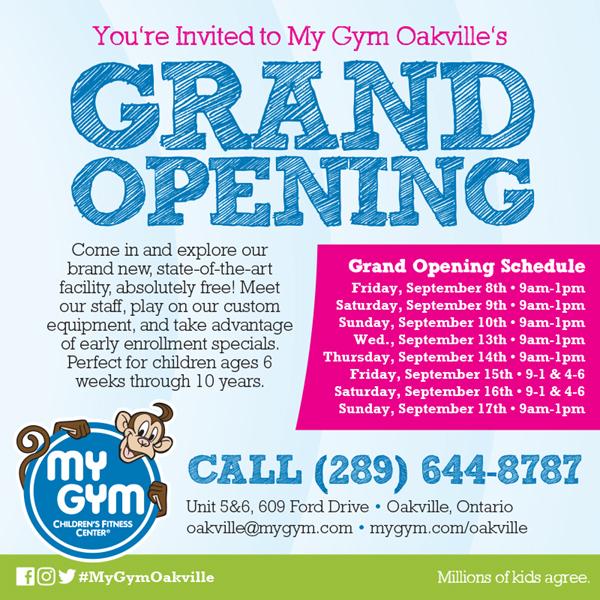 My Gym Oakville