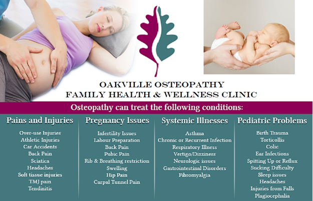 OAKVILLE OSTEOPATHY - Family Health and Wellness Clinic
