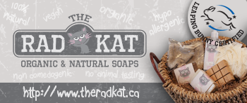 The Rad Kat Organic & Natural Soaps in Oakville.