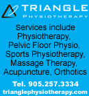 Triangle Physiotherapy in Oakville