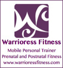 Warrioress Fitness, is a mobile personal trainer, prenatal and postnatal fitness specialist in Oakville, Milton